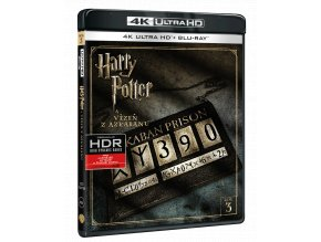 Harry Potter a Vězeň z Azkabanu (4k Ultra HD Blu-ray + Blu-ray)