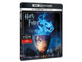 Harry Potter a Ohnivý pohár (4k Ultra HD Blu-ray + Blu-ray)