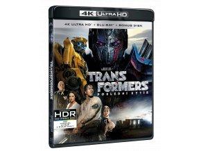 Transformers: Poslední rytíř (4k Ultra HD Blu-ray + Blu-ray + bonusový Blu-ray)