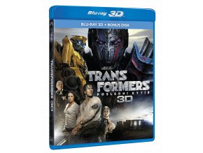 Transformers: Poslední rytíř (Blu-ray 3D + bonusový Blu-ray)