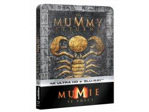 Mumie se vrací (4k Ultra HD Blu-ray + Blu-ray, Steelbook)