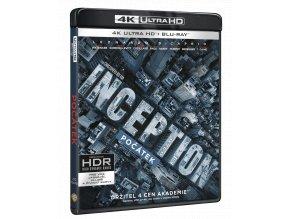 Počátek (4k Ultra HD Blu-ray + Blu-ray)