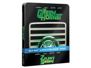 Zelený sršeň (Film na Blu-ray i DVD, Steelbook)
