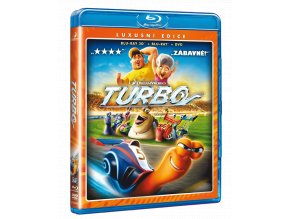 Turbo (Blu-ray 3D + Blu-ray 2D + DVD)