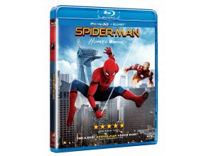 Spider-Man: Homecoming (Blu-ray 3D + Blu-ray 2D)
