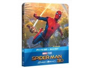 Spider-Man: Homecoming (Blu-ray 3D + Blu-ray 2D, Steelbook)