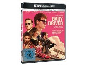 Baby Driver (4k Ultra HD Blu-ray + Blu-ray)