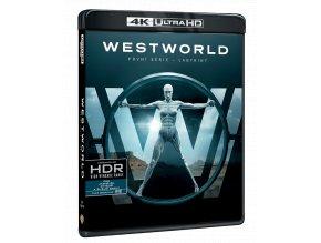 Westworld - 1. sezóna (3x 4k Ultra HD Blu-ray, 3x Blu-ray)