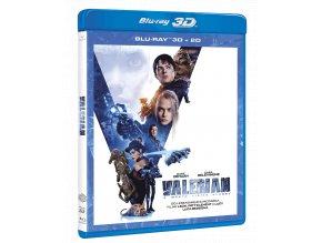 Valerian a město tisíce planet (Blu-ray)
