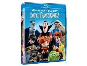 Hotel Transylvánie 2 (Blu-ray 3D + Blu-ray 2D)