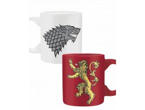 Hrnečky Game of Thrones - Stark & Lannister (2x 110ml)