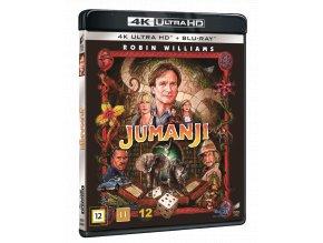 Jumanji (4k Ultra HD Blu-ray + Blu-ray)