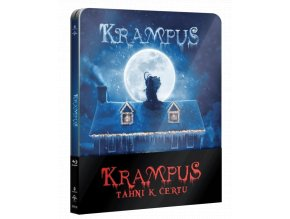 Krampus: Táhni k čertu (Blu-ray, Steelbook)
