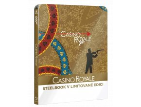 Casino Royale (Blu-ray, Steelbook)