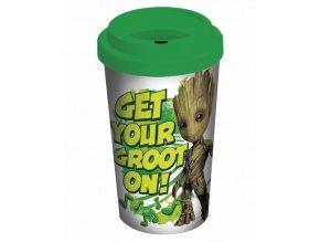 Cestovní Hrnek Marvel: Strážci Galaxie - Groot (340 ml)