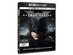 Batman začíná (4k Ultra HD Blu-ray + Blu-ray + bonusový disk)