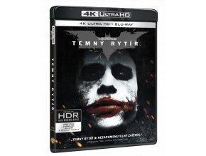Temný rytíř (4k Ultra HD Blu-ray + Blu-ray + Bonusový disk)