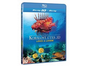 Korálový útes 3D - Lovci a lovení (Blu-ray 3D + 2D)