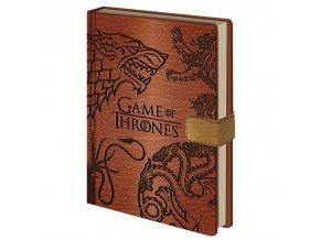 Zápisník Game Of Thrones (A5)