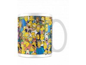Hrnek Simpsonovi: Postavičky (315 ml)