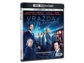 Vražda v Orient expresu (4k Ultra HD Blu-ray + Blu-ray)