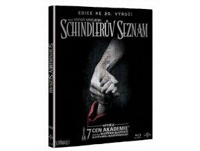 Schindlerův seznam (Digibook, Blu-ray + bonusové DVD)