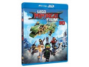 Lego Ninjago film (Blu-ray 3D + Blu-ray 2D)