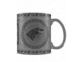 Měnící se hrnek Game of Thrones: Stark (315 ml)