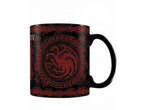 Měnící se hrnek Game of Thrones (Targaryen, 315 ml)