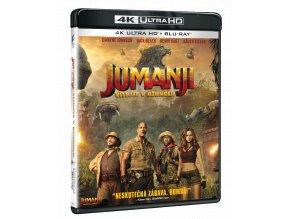 Jumanji: Vítejte v džungli! (4k Ultra HD Blu-ray + Blu-ray)