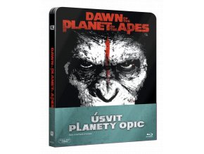 Úsvit planety opic  (Steelbook, 3D)