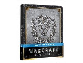 Warcraft: První střet  (Steelbook, 3D)