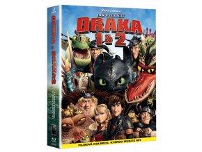 Jak vycvičit draka (Blu-ray kolekce, 1. a 2. díl, 2x Blu-ray)