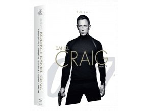 James Bond: Daniel Craig kolekce (4x Blu-ray)
