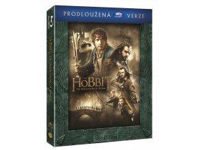 Hobit: Šmakova dračí poušť (3x Blu-ray, Prodloužená verze)