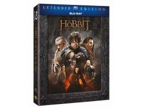Hobit: Bitva pěti armád (3x Blu-ray, Prodloužená verze)