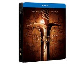 Kolekce Hobit (6x Blu-ray, jumbo steelbook, kinoverze)