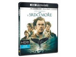 V srdci moře (4k Ultra HD Blu-ray + Blu-ray)