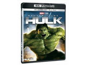 Neuvěřitelný Hulk (4k Ultra HD Blu-ray + Blu-ray)