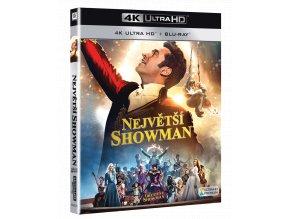 Největší showman (4k Ultra HD Blu-ray + Blu-ray)