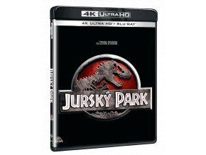 Jurský park (4k Ultra HD Blu-ray + Blu-ray)