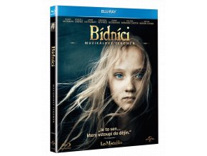 Bídníci (Blu-ray + CD se soundtrackem, Digibook)
