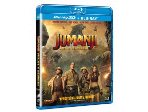 Jumanji: Vítejte v džungli (Blu-ray 3D + Blu-ray 2D)