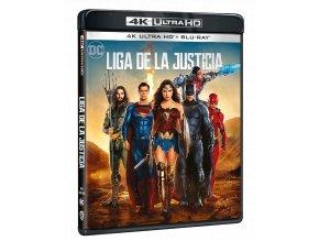Liga spravedlnosti (4k Ultra HD Blu-ray + Blu-ray)
