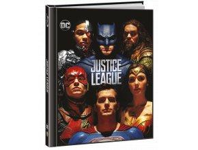Liga spravedlnosti (Blu-ray 3D + Blu-ray 2D, Digibook)