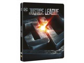 Liga spravedlnosti (Blu-ray 3D + Blu-ray 2D, Steelbook)