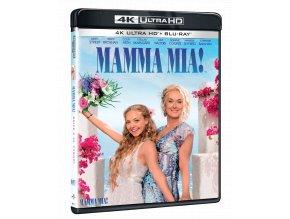 Mamma Mia! (4k Ultra HD Blu-ray + Blu-ray)