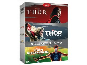 Thor (Kolekce 1-3, 3x Blu-ray 3D, 3x Blu-ray 2D)