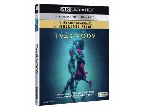 Tvář vody (4k Ultra HD Blu-ray + Blu-ray)