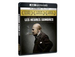 Nejtemnější hodina (4k Ultra HD Blu-ray + Blu-ray)